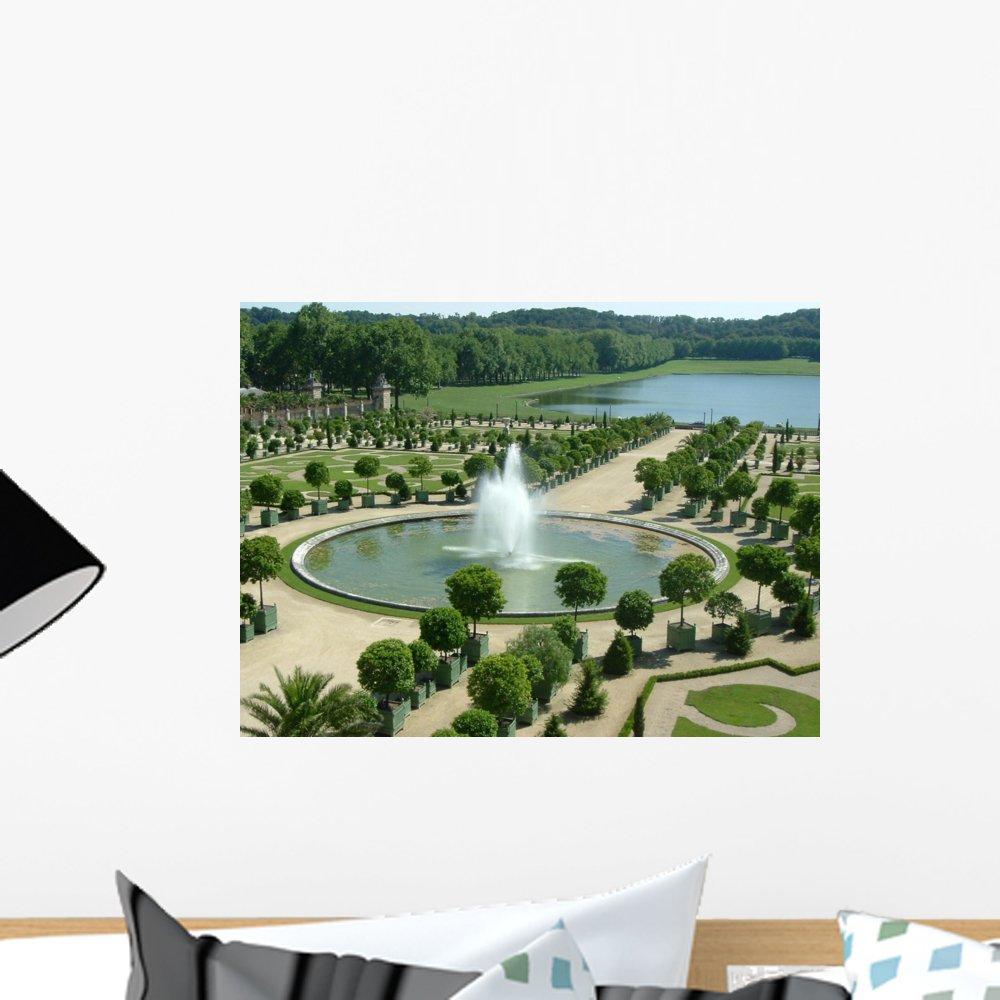 Amazon com: Wallmonkeys WM158274 Gardens-Palace of