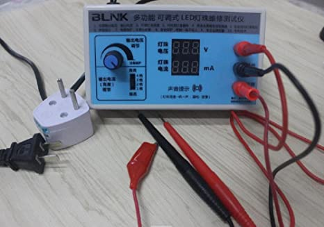 Amazon com: AC 220V EU plug Screen Led Backlighting LED Tester LCD