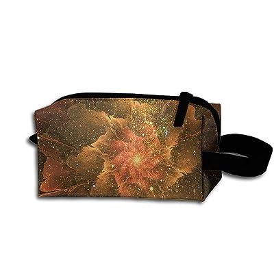 Liweiger Dream Flower Blooming Portable Receiving Bag Make-up Cosmetic Bag Sewing Kit Stationery Bags Multi-function Bag