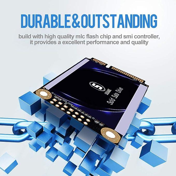 MSATA SSD 32GB Shark Unidad de Estado sólido Interna Unidad de ...