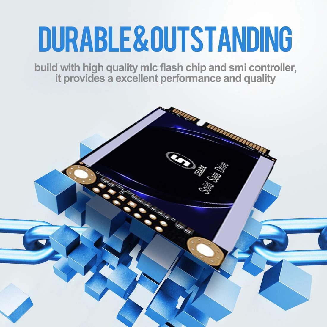 new style ff1b6 38b9f SSD M.2 2242 60GB Ngff Shark Unidad De Estado Só lido Incorporada