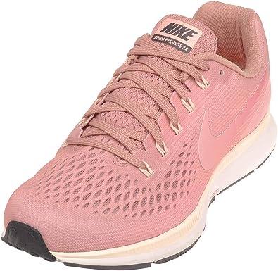 contar hasta Adaptación Copiar  Nike Womens Air Zoom Pegasus 34 Running Shoe (10.5, Rust Pink/Tropical  Pink): Amazon.es: Zapatos y complementos
