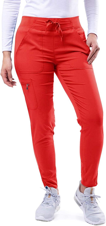 Adar Pro Scrubs for Women - Fashionable Yoga Jogger Scrub Pants