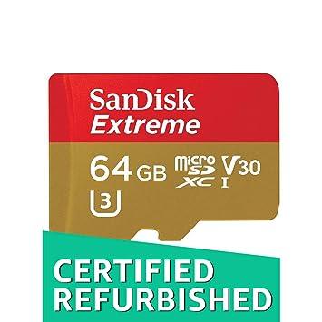 SanDisk Extreme - Tarjeta de Memoria microSDXC de 64 GB y ...