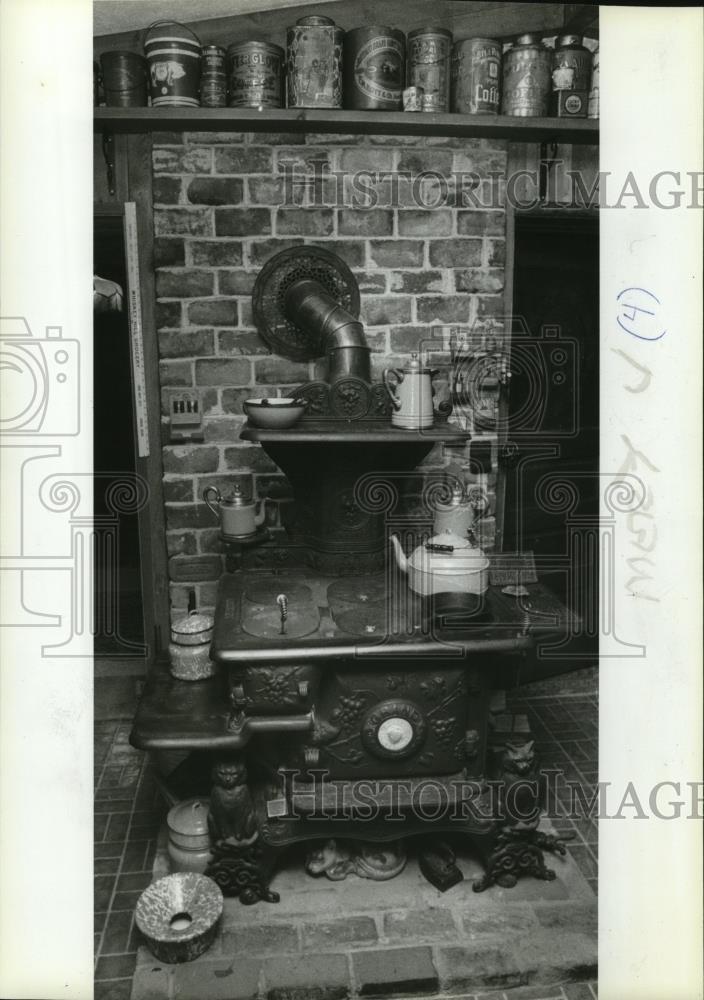 Vintage Photos 1983 prensa fotos Old Fashioned estufa - oro10461: Amazon.es: Hogar