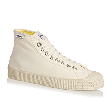 13d1c24e07d1 Novesta Star Dribble White High Top  Amazon.co.uk  Shoes   Bags