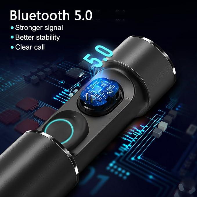 Auriculares Bluetooth Inalámbricos, KeVis V5.0 Auriculares Deportivos Inalámbricos In-ear IPX5 Mini Twins Stereo Auriculares Inalambricos con Caja de Carga ...