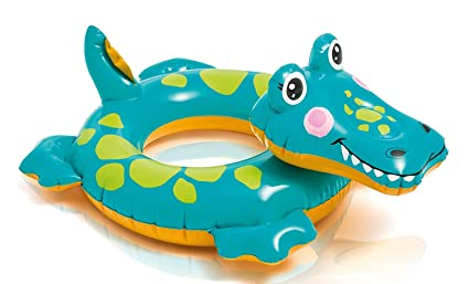 Amazon.com: Intex Alligator Big Animal Anillo (3 A 6 Años ...
