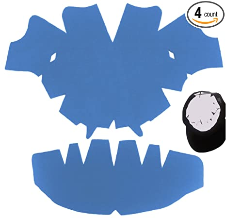 bdb1f68ac36669 3 Pack. Light Blue-baseball Cap Large Dome Panel Shaper and Hat Crown  Inserts