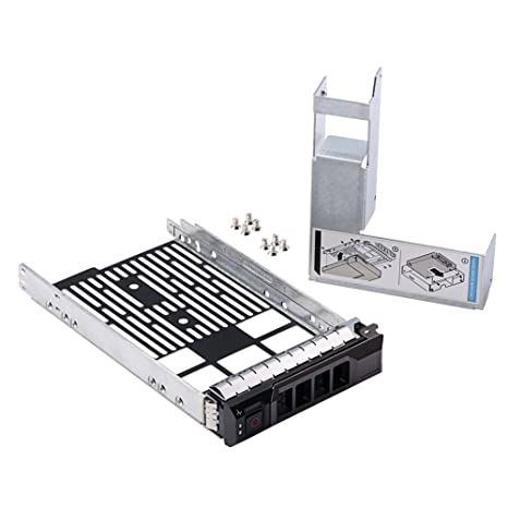 "2.5/"" SAS SATA SSD Hard Drive Tray Caddy For Dell PowerEdge R510 SHIP From USA"