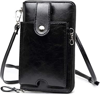 Lady Wallet Womens Wallet Small Bag Female Messenger Bag Mobile Phone Wallet PU Leather Color : C
