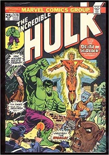 Amazon com: The Incredible Hulk #178: Marvel Comics: Books