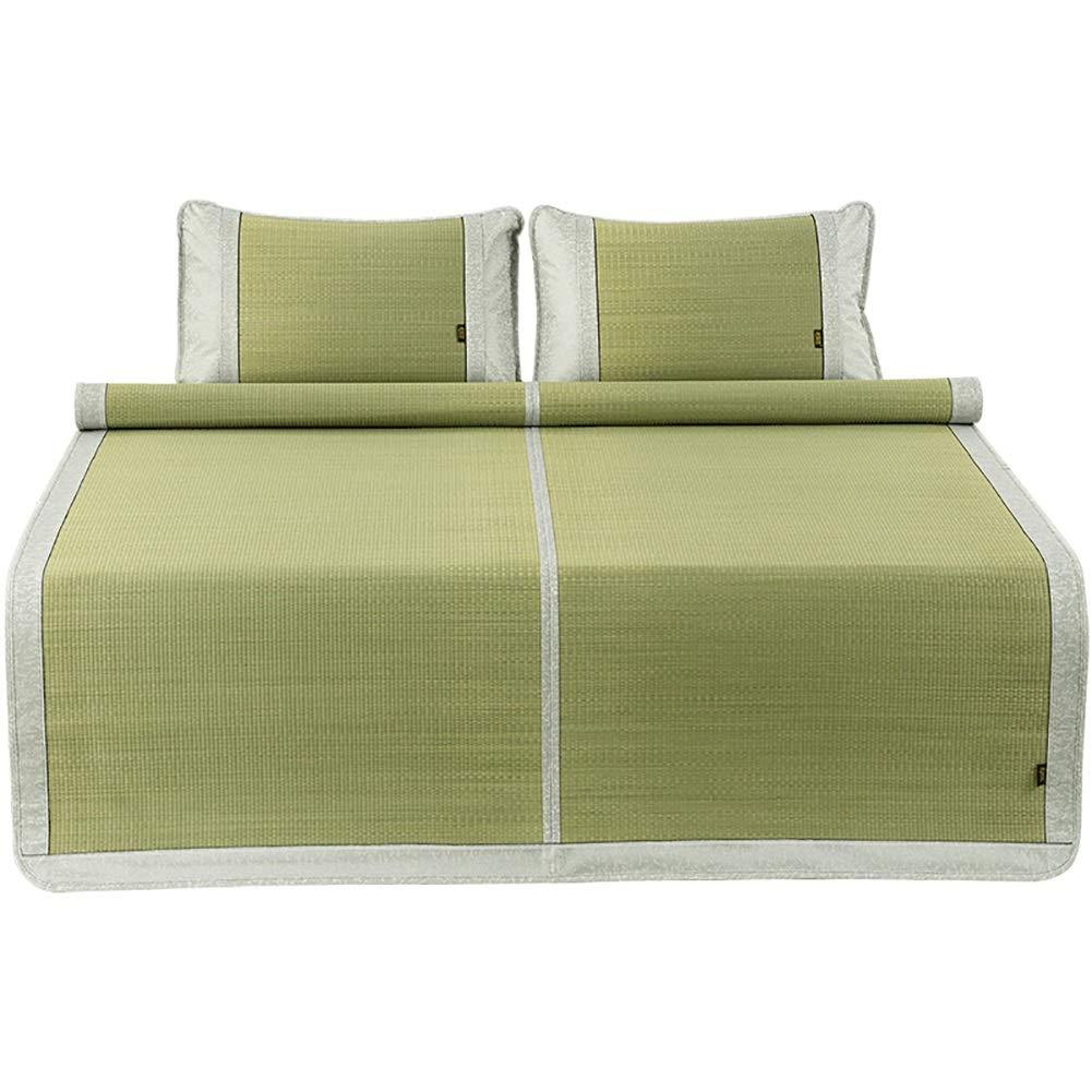 マットレス 氷のない自然な草のマットの冷却のマットレス、滑らかなマットの折りたたみ夏の寝具 (Size : W1.8mx2.00m) B07T8Y1NV3  W1.8mx2.00m