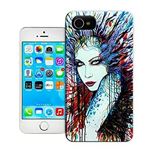 Unique Phone Case Personalities pattern A sultry woman challenges the viewer in this sexy watercolor painting Hard Cover for 4.7 inches iPhone 6 cases-buythecase