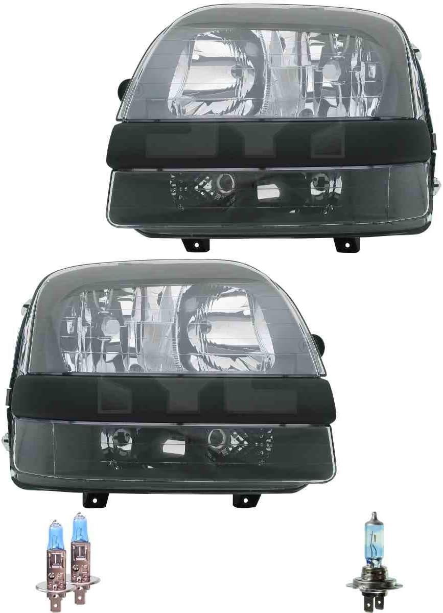 Osram Lampen Scheinwerfer Set H1//H1//H7 f/ür Doblo Cargo 223 119 inkl