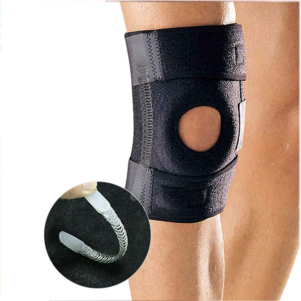 ZCF Basketball Badminton Running Sports Soccer Knee Injuries Men and Women Warm with Meniscus Knee Protectors (Color : D)