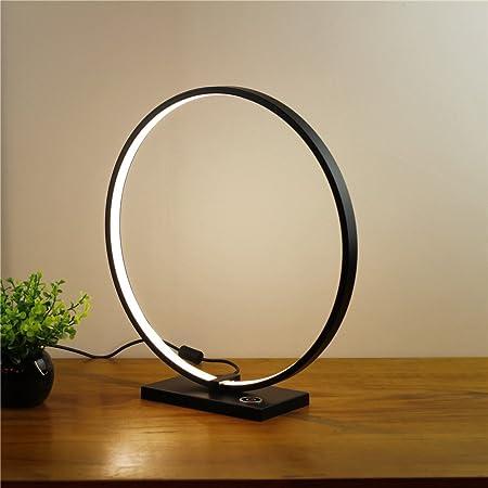 YL Light Nordique Creative Cercle Lampe De Table Gradin Gradation Minimaliste Décoratif Nuit Lumière pour Hôtel Chambre Lampe De Chevet Lecture LED