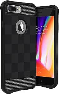Buff iPhone 8 Plus Black Armor Kılıf
