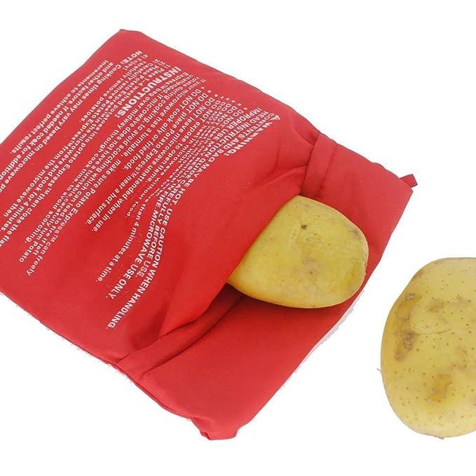 Amazon.com: Paquete de 4 bolsas de microondas para ...