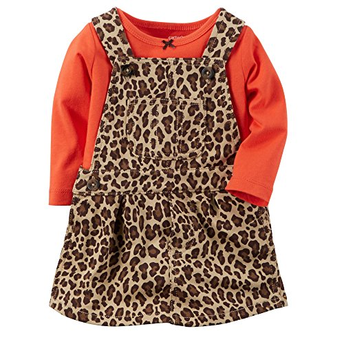 (Carter's Baby Girls' 2-Piece Jumper Set - Cheetah Print (Newborn))