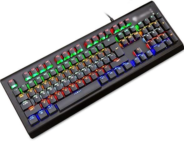 Teclado Gaming Mechanical Esports Keyboard, Teclado de Juego ...
