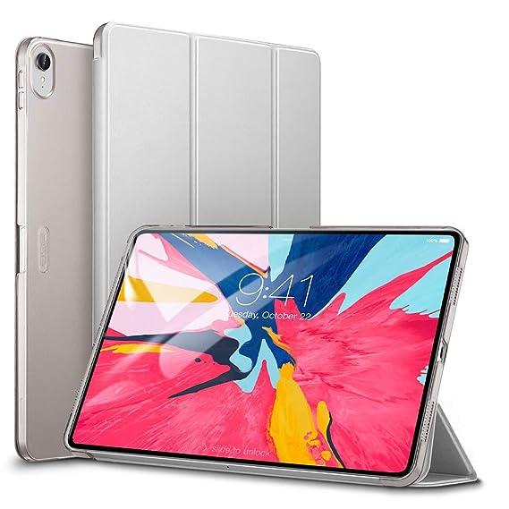 ESR Funda para iPad Pro 11 2018 Silicona [Auto-Desbloquear] Función de Soporte