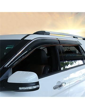 Rain Guards For Trucks >> Amazon Com Side Window Wind Deflectors Visors Deflectors