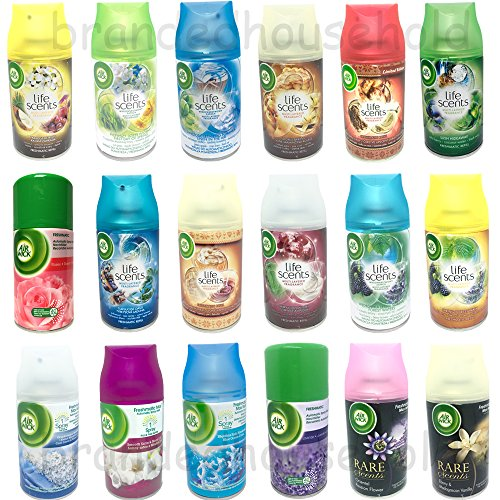 -[ 6x Airwick Freshmatic Max Automatic Spray Refills Mix 250ml  ]-