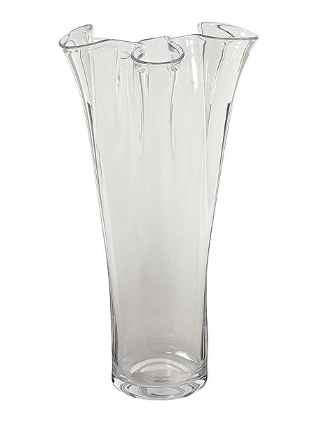 Linea Clear 60cm Handkerchief Vase Amazon Kitchen Home