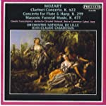 Mozart: Clarinet Concerto K 622 Concerto For Flute & Harp Masonic Funeral Music K 477