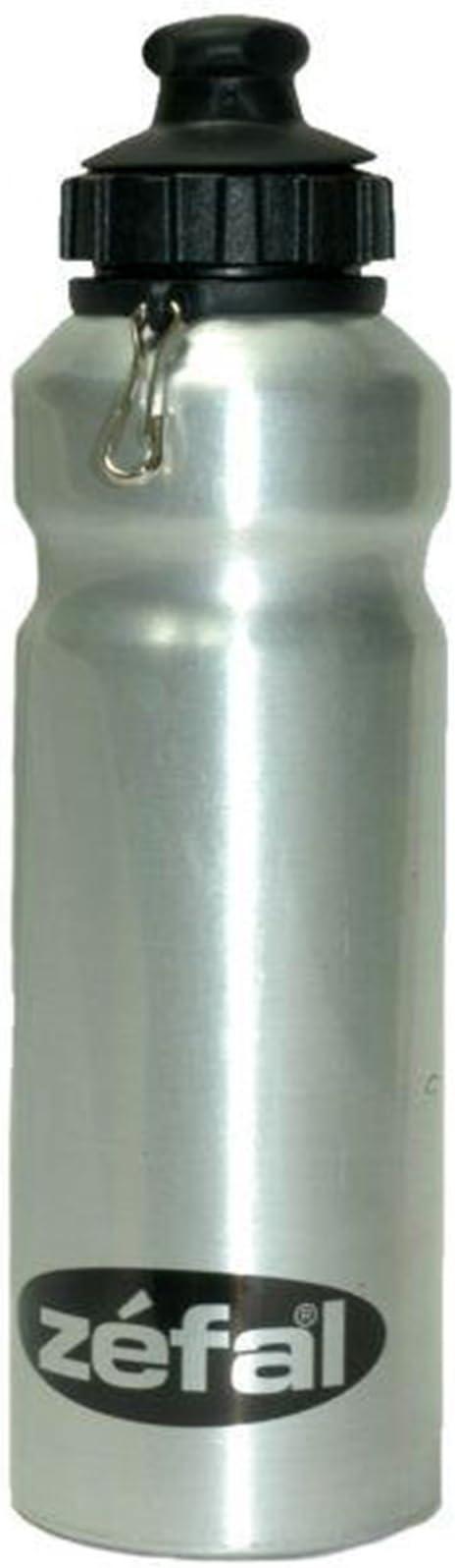 Bidon de Aluminio Plata ZEFAL 500cc Antimicrobial para Bicicleta ...