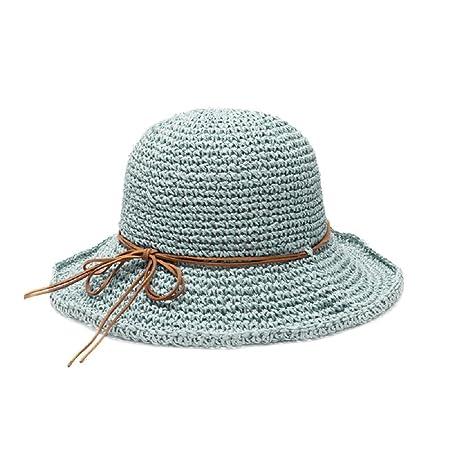 603dba92664 Gespout straw hat leisure sun hat beach hat Summer outdoor play ladies