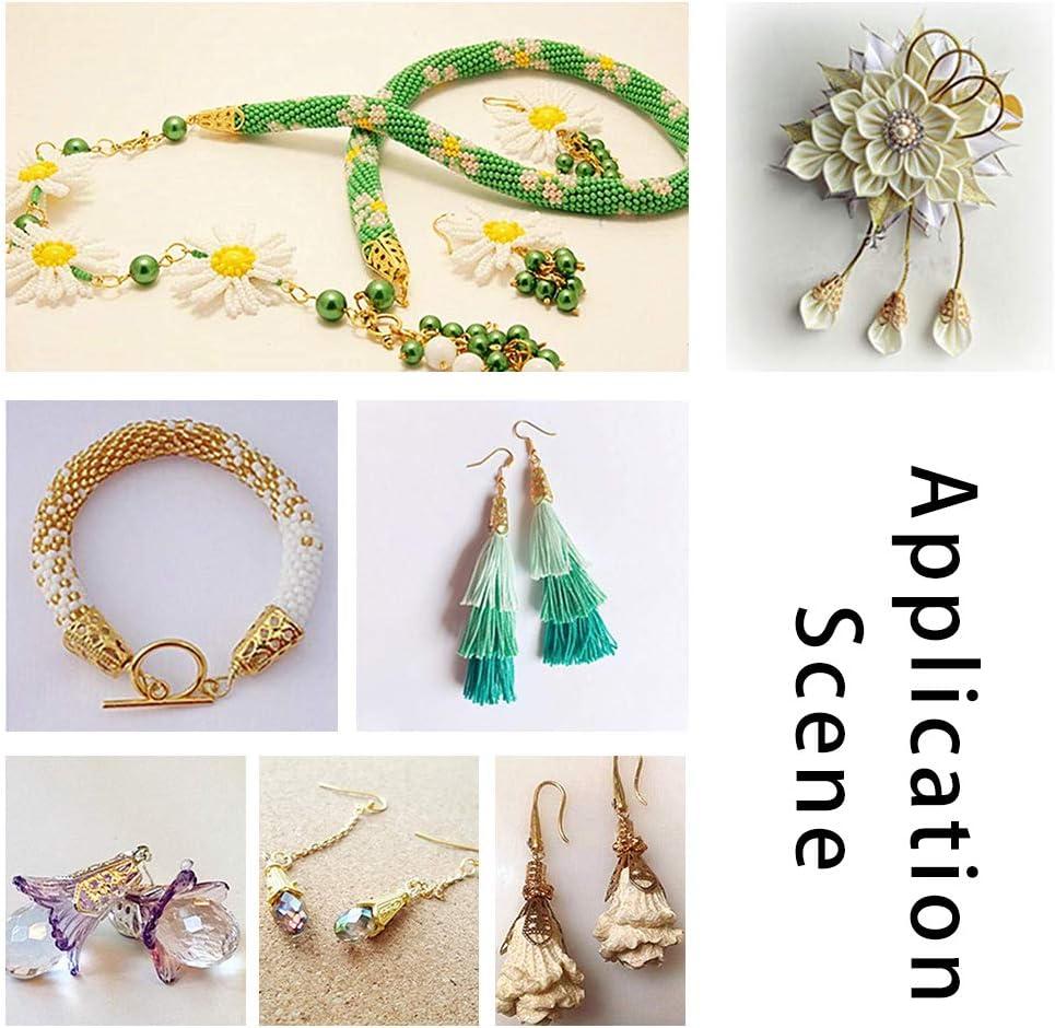 Fashion 50 Pcs Leaves Filigree Metal Crafts Jewelry DIY Accessories Pendant ER