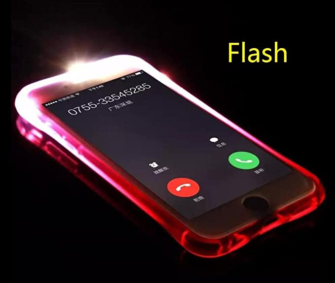 reputable site 55c4b b583e Amazon.com: For Galaxy Note8 Case, Omio Cool Flashing Light Up To ...