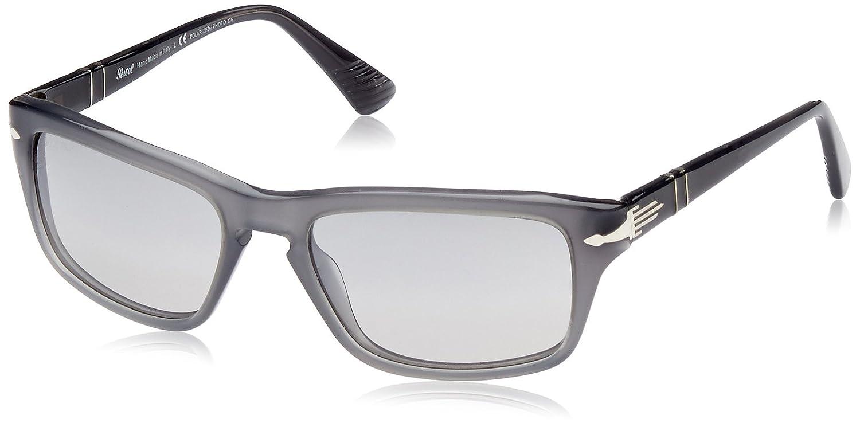 8a12fb937646 PERSOL Sunglasses PO 3074S 100382 Matte Opal Grey 55MM: Amazon.co.uk:  Clothing