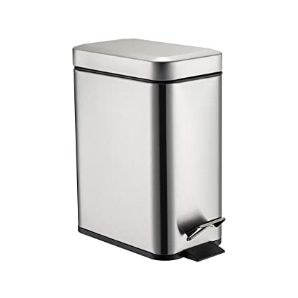 GiniHome Office Bin, Small Trash Can For Kitchen U0026 Bathroom, Waste Basket  Soft