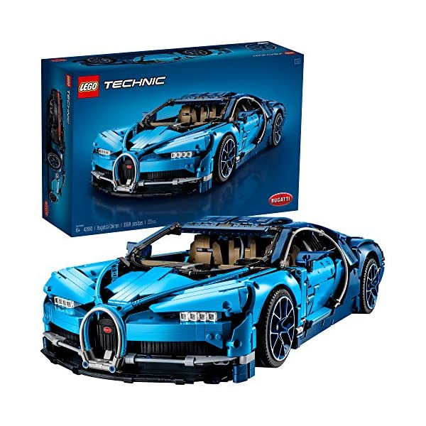 611SYXdNRPL. SS600  - LEGO Technic Bugatti Chiron 42083 Race Car Building Kit and Engineering Toy, Adult Collectible Sports Car with Scale…