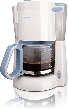 Philips 1.3L Coffeemaker HD7448/70, Azul, Blanco, 0.88 m, 1000