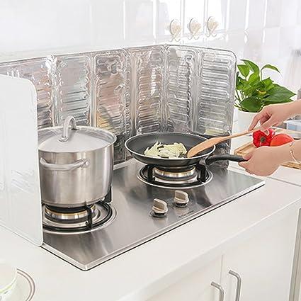 Amazon Com Kitchen Accessories Cooking Frying Pan Oil Splash Screen