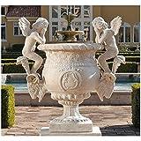 Design Toscano Versailles Cherub Urn Statue For Sale