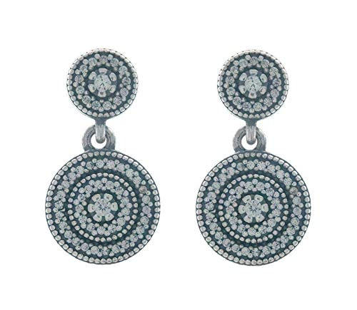 4eab9d9d9 Radiant Elegance Drop Earrings 290688CZ: Amazon.co.uk: Shoes & Bags