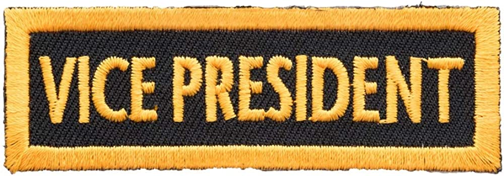 Vice President Yellow Patch Club Rank Patches