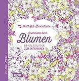 Malbuch für Erwachsene Blumen