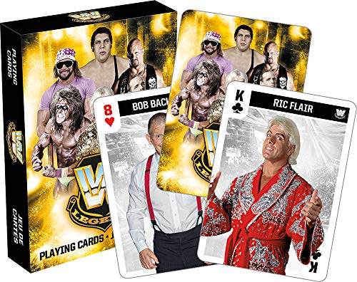 Aquarius WWE Legends Playing Cards