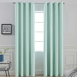 yyyyk Blackout Curtains 3D Night sky landscape 2 x W46 x H54 Inch 3d Super Soft Thermal Insulated Energy drapes Darkening Window Curtain for Kids Bedroom Living Room Nursery