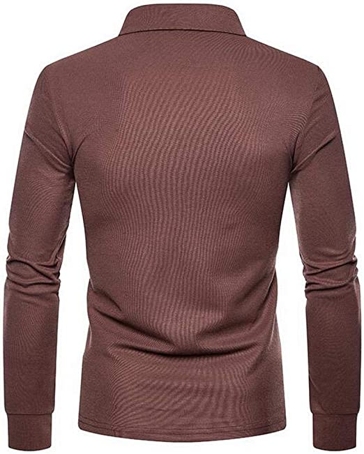 Suncolor8 Mens Knitted Round Neck Slim Fit Casual Color Block Long Sleeve Pullover Sweater
