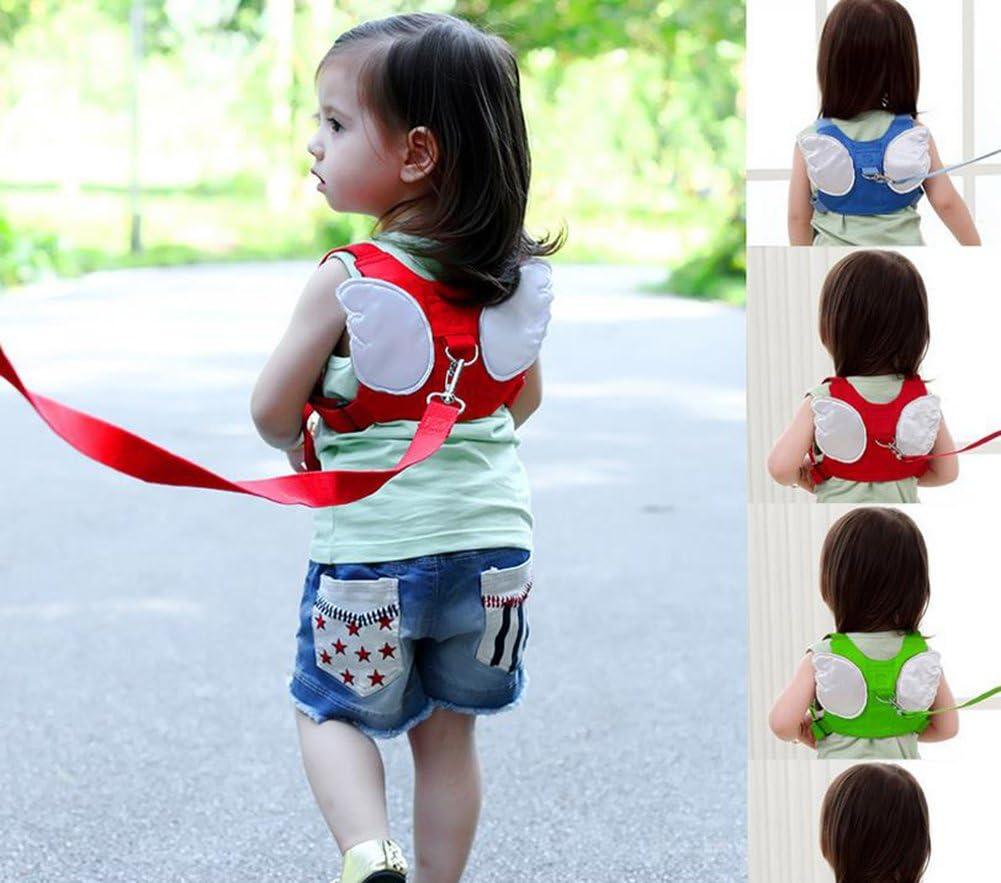 con un dise/ño original de alas Laat/ /Mochila//arn/és para ni/ños de seguridad acolchada para llevar a su hijo con una cinta y que de esta manera no se caiga