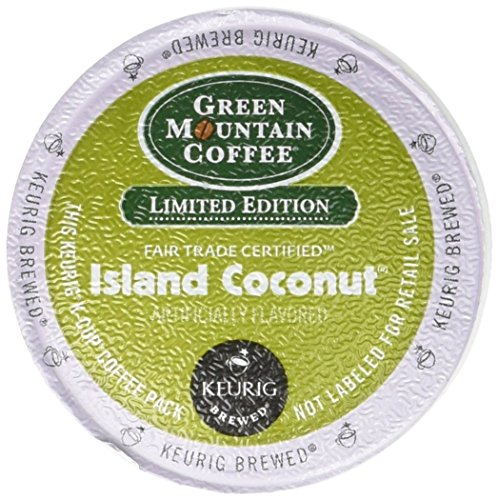 18ct K-Cup Coconut Coffee (Green Mountain Coconut)