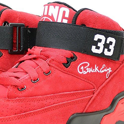 ... Ewing Friidrett Ewing 33 Midten Av Menns Basketball Sko 1ew90144-602 Rød  ...