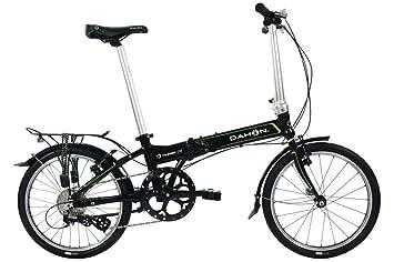Dahon Vitesse D8 2016 - Bicicleta plegable, unisex, color negro, tamaño